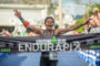 Sara Gross (CAN) finishes 2nd at 2013 Ironman Brazil in…