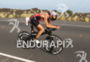 Ironman Natascha BADMANN (SUI)  competes during the bike portion of…