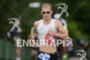 Jan van Berkel on the run at the 2014 Ironman…