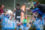 Albert Moreno finishing the Alpe d'Huez Triathlon, on July 30…