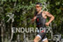 Javier Gomez running at the 2014 Ironman 70.3 World Championships…
