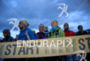 Atlhetes pior to race start at the 2014 Ultra Trail…