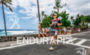 Craig Alexander runs along Ali'i' Drive at the Ironman World…