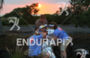 Medicals support an exhausted triathlete at sunset at the 2014…