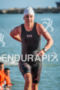 Haley Chura during the swim  portion of the 2014 Ironman…