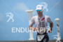 Eneko Llanos during the run portion of the 2014 Ironman…