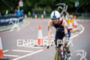 Clare Cunningham (GBR) during the cycling stage on the bike…