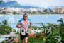 Tyler Butterfield during the run portion of the 2015 Ironman…