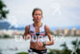 Liz Lyles during the run portion of the 2015 Ironman…