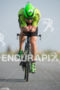 Eneko Llanos competes during the bike leg of the Ironman…