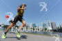 Sebastian Kienle competes during the run leg of the Ironman…