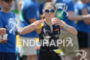 Kristin Möller competes during the run leg of the Ironman…