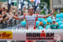 Jan Frodeno celebrates at the finish of the Ironman European…