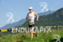 Athlete during the run portion of the 2015 XTERRA Brazil…