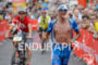 Andreas Raelert competes during the run leg of the Ironman…