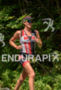 Jackie Hering during the run portion of the at the…