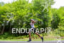 Justin Daerr during the run portion of the at the…