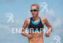 Emma Pallant during the swim portion of the 2015 Challenge…