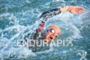 Richard Vargas competes during the swim leg of the 2015…