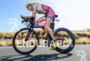 Leanda Cave (GBR) competes during the bike leg at the…