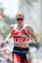 Jodie Swallow (GBR) competes during the run leg at the…