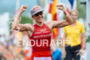 Daniela Ryf (CHE) at the finish at the 2015 Ironman…
