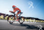 Eneko Llanos during the bike portion of the  2015 Ironman…