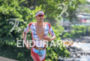 Jan Frodeno during the run portion of the  2015 Ironman…