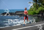 Jodie Swallow during the run portion of the  2015 Ironman…