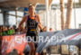 Sarah Haskins was the first woman out of the water…