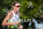 Leanda Cave during the run portion of the  2015 Ironman…
