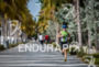 Michaela Herlbauer during the run portion of the  2015 Ironman…