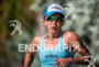 Jessica Chong during the run portion of the  2015 Ironman…