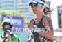 Fernanda Keller during the run portion of the  2015 Ironman…