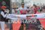 Bart Aernouts celebrates at the finish line at the 2016…
