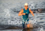 Christian Hörper during the swim portion of the 2016 Ironman…