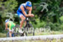 Nils Frommhold during the bike portion of the 2016 Ironman…