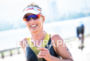 Natascha Badmann during the run portion of the 2016 Ironman…