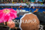 Finish line on the rain during the 2016 Ironman 70.3…