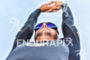 Athlete stretching before the swim portion of the 2016 Ironman…