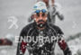 Mike Aigroz during the swim portion of the 2016 Ironman…