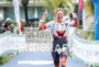Mareen Hufe during the finish line portion of the 2016…