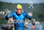 Paul Matthews during the swim portion of the 2016 Ironman…