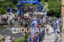 Scenic finish line at the 2016 Ironman 70.3 Mont-Tremblant in…