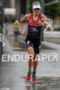 Melissa Hauschildt during the run leg at the Ironman European…