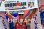 Melissa Hauschildt at the finish at the Ironman European Championship…