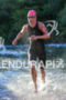 Holly Lawrence (GRB) exits water at the 2016 Ironman 70.3…