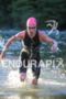 Holly Lawrence (GBR) exits water at the 2016 Ironman 70.3…
