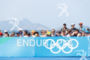 The crowd during the finish portion of the 2016 Rio…