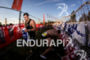 Athlete during their swim-bike transition at the Ironman 70.3 Vichy…